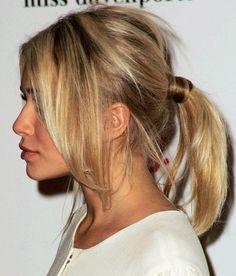 Olsens know how to rock a side fringe