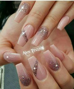 44 Latest Nail Trends And Designs 2019 Gel Nails 2019 Latest Nail Designs, Ombre Nail Designs, Acrylic Nail Designs, Nail Art Designs, Nails Design, Acrylic Nails, Coffin Nails, Trendy Nails, Cute Nails
