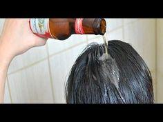Aplica una cerveza en tu cabello, y los resultados no los podrás creer! - YouTube