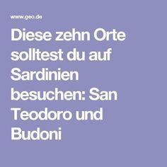 Diese zehn Orte solltest du auf Sardinien besuchen: San Teodoro und Budoni