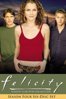 Felicity - to summarize this is a pretty long story of stalker Keri Russell but she is rediculiously adorable all the time. I think Scott Speedman kinda looks like Adrian Brody... LOL