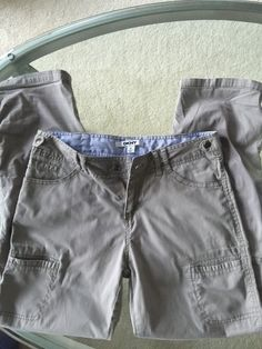 My Girls DKNY Grey Cargo Pants by DKNY! Size 12  for $$9.00. Check it out: http://www.vinted.com/mini-vinties/girls-pants/20712350-girls-dkny-grey-cargo-pants.