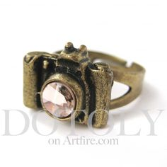 Adjustable Camera Ring in Bronze with Antique Finish