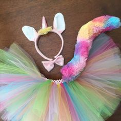 Little girls and big girls will look outrageously CUTE in this adorable Unicorn…