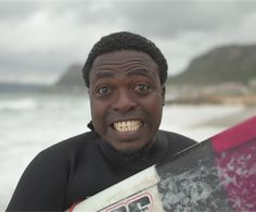 The champion surfer who couldn't swim Digital Media, Champion, Surfing, Waves, Swimming, African, South Africa, Beautiful, News