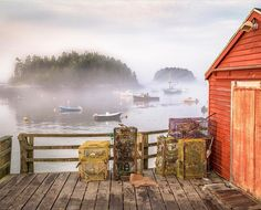 """2,997 Likes, 20 Comments - Down East Magazine (@downeastmagazine) on Instagram: """"""""The Georgetown Town Wharf and Five Islands Lobster Co. provide one of the most picturesque settings in Maine."""