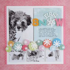Pretty Punch Winter Scrapbook Page - http://www.bhg.com/crafts/scrapbooking/layouts/holidays-seasons/winter-scrapbook-layout-ideas/?sssdmh=dm17.714200&esrc=nwcu123013#page=2