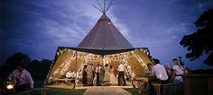 Fab single kata lit up at night Tipi Wedding, Wedding Hire, Wedding Venues, East Yorkshire, Wet Weather, Something Old, Big Day, Festivals, Wedding Styles