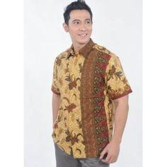Baju Batik Pria 2058