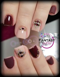 His face is the best cute puppies cats animals - Uñas Coffing Maquillaje Peinados Tutoriales de cabello Fabulous Nails, Gorgeous Nails, Pretty Nails, Acrylic Nail Designs, Acrylic Nails, Nail Manicure, My Nails, Wine Nails, Nails For Kids