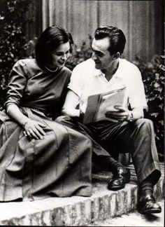 Lucia Bosè & Luchino Visconti