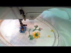 Silk Ribbon class - 6 - Bing video