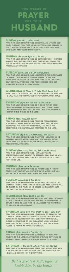 Two Weeks of Prayer for Your Husband