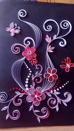 cz Stunning Quilling DesignFinally I have finished my dBlue Deco – Quilled Earri Quilling Flowers Tutorial, Paper Quilling Flowers, Paper Quilling Cards, Paper Quilling Patterns, Quilled Paper Art, Paper Quilling Earrings, Origami And Quilling, Quilling Paper Craft, Paper Crafts