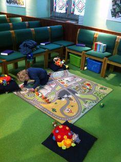 Children's Corner in worship space