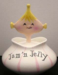 1950's jam and jelly container