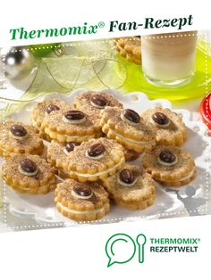 Cappuccino-Plätzchen Cappuccino cookies from Molino. A Thermomix ® recipe from the Baking Sweet category www.de, the Thermomix® Community. Cake Mix Cookie Recipes, Chocolate Cookie Recipes, Cake Mix Cookies, Chocolate Chip Cookies, Food Processor Recipes, Food And Drink, Nutella, Baking, Desserts