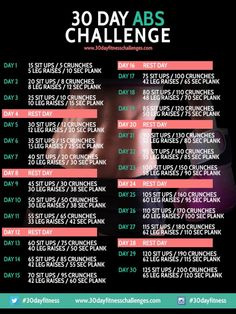 30 Day Abs Challenge