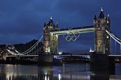 Tower Bridge Olympic Rings 2012