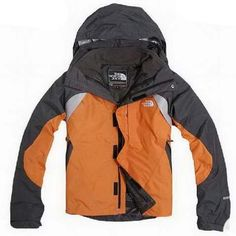 North Face Triclimate 3 In 1 Jacket Mens Orange