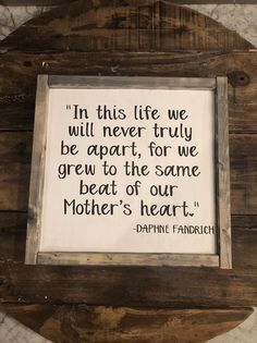 Sibling Quote Sign, Mourning Loved One, Sympathy Gift, Grieving Sibling Decor, Bog Road Designs - Trend Sister Quotes 2019 Loss Of A Sister, Brother Sister Quotes, Daughter Quotes, Father Daughter, Sister Love Quotes, Nephew Quotes, Loss Quotes, Sign Quotes, Grieving Quotes