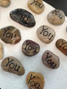 """Students can put them in their pocket as a reminder that someone thinks they """"rock""""!"""