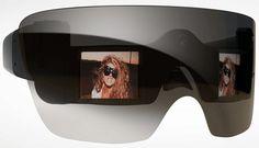 Polaroid camera glasses (designed by Lady Gaga)