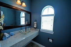 custom Half Bathroom to welcome your Guest With Style!