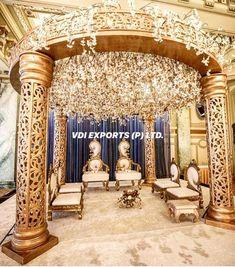 Punjabi Culture, Wedding Furniture, Wedding Mandap, Backdrop Design, Horse Carriage, Wedding Moments, Umbrellas, 20 Years, Gates