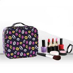 584e3d49207 Vrouwen hoge kwaliteit cosmetische tassen Cosmetische Box Organizer Grote  capaciteit Reizen draagbare rits Zak Cosmetische schoonheid