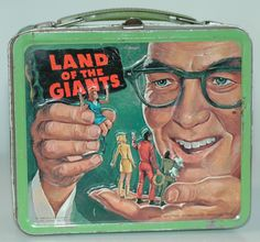 """This """"Land of the Giants"""" lunch box from the late '60s was one of the first six Adams purchased in 1998."""