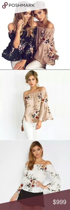 💥COMING SOON💥OFF THE SHOULDER BELL SLEEVE BLOUSE All of my coming soon items come directly from the maker and most are over seas so, it takes a while to get here. I find it's cheaper as a buyer and I'm able to price it reasonably. I'm buying sample pieces to start with to see the demand and the quality of the product. If the quality isn't up to par when I receive it the listing will come down. Most items will be size medium to start. Measurements to come. If you'd like to be notified when…