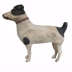 Carved Dog | From a unique collection of antique and modern sculptures and carvings at http://www.1stdibs.com/furniture/folk-art/sculptures-carvings/
