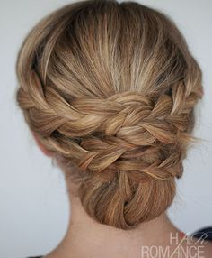 Best Summer Updo Hair Romance