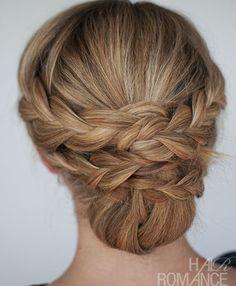 Best Summer Updo Hair Romance