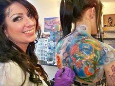 Ruffle Blouse, Tattoos, Tops, Women, Fashion, Moda, Tatuajes, Fashion Styles, Tattoo