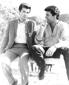 With George Chakiris & James Darren the set of DIAMOND HEAD where they played Hawaiian natives, being naturally of Greek & Italian heritage, respectively. Hollywood Party, Hollywood Icons, Classic Hollywood, Old Hollywood, James Shigeta, James Darren, Iconic Movies, Old Movies, George Chakiris