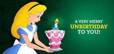 Alice nel paese delle meraviglie ... #Buon #Non #Compleanno ♥ !