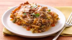 10 Slow-Cooker Mexican Meals: Slow-Cooker Layered Enchilada Dinner