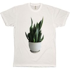 Friends & Friends Snake Plant White Tee