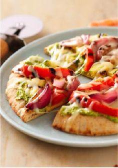 Pizza Recipes on Pinterest | Pita Pizzas, Hamburger Pizza and Pizza