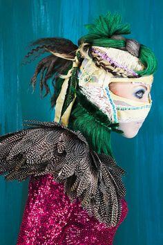 Madame Peripetie's Bird series for Tata Christiane.