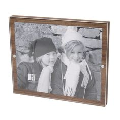 Found it at AllModern - Veneer Magnetic Picture Frame