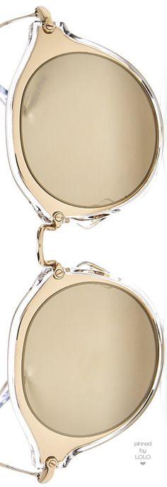 Miu Miu Mirrored Round Sunglasses, 56mm