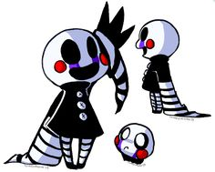 Five Nights at Freddy's 2 : Marionette  It's so cute