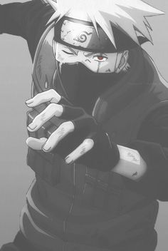 Naruto Challenge Day 5- Favorite Sensei: Kakashi Hatake. Kakshi is just soo cool!!! And hot. And powerful. And understanding...and I want to know what he looks like without the mask! Seriously....