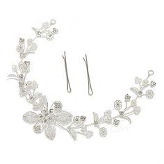 Amazing Alloy/Pearl Headbands (042055975)