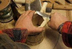"""Weekend Project: Make a Wooden """"Viking"""" Beer Mug...No Power Tools Required"""