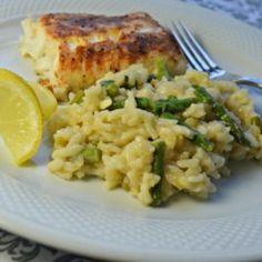 Lemon Asparagus Risotto - Allrecipes.com