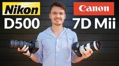 Nikon D500 vs Canon 7D Mark ii - Head to Head Shootout!